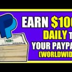 Earn $100 Per Day To Your Paypal PASSIVE INCOME – Make Money Online