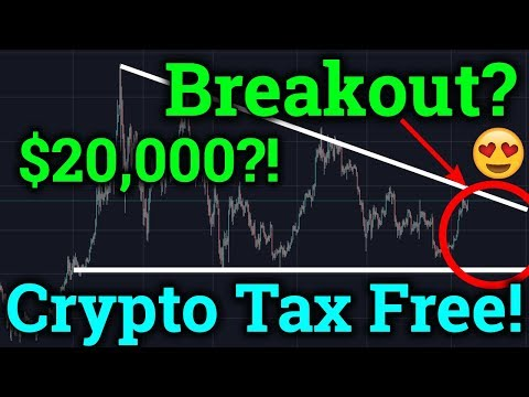 Bitcoin BREAKOUT Coming! Cryptocurrency Taxes News! (BTC Technical Analysis + Trading 2019)