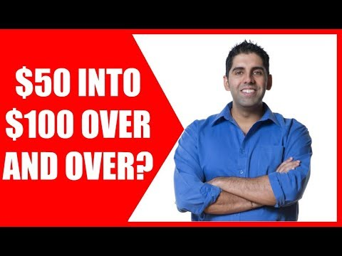 How To Turn 50 dollars Into 100 Make Money Online   No Money Out Of Pocket