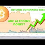 BITCOIN DOMINANCE RISING!! ARE ALTCOINS DONE??