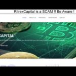 RitrexCapital Bitcoin Investment Platform is a SCAM