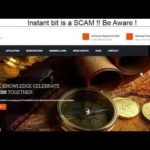 InstantBit xyz Bitcoin Investment Platform is a SCAM !