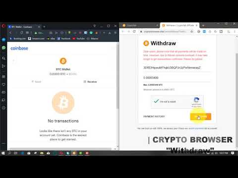 CryptoTab Browser Payment Proof - Bitcoin Mining 2019 (Coinbase Wallet)1.mp4