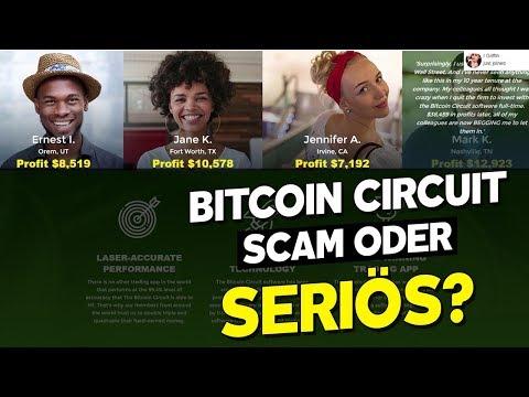 Bitcoin Circuit SCAM oder SERIÖS? 2019 Bitcoin Circuit Erfahrungen & Review!