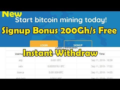 New Fresh   Bitcoin Cloud Mining   Signup Bonus 200Gh/s Free   Earncryptocoin   flamemine