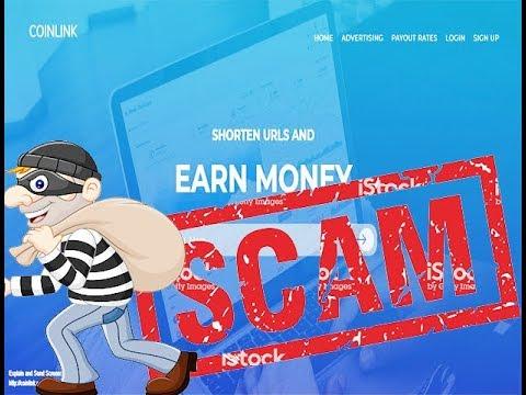 acortadores que pagan con bitcoin COINLINK.CO ((SCAM)) NO PAGA