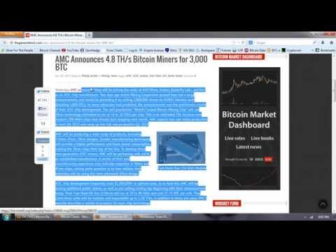 Bitcoin Report Volume 55 (Asic Panic)
