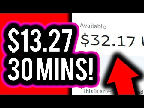Earn $13.27 EVERY 30 MINUTES! (Click & Earn PayPal Money) - Make Money Online 2019