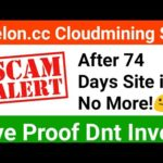 Avelon.CC Scam Not Paying Dnt Invest | New Bitcoin Cloudmining Websites 2019 | Avelon Payment Proof