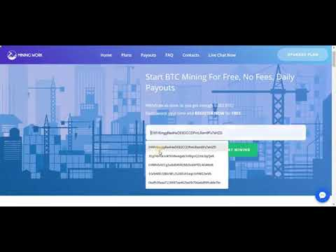 Start Bitcoin Mining For Free Bitcoin Cloud Mining 2019 No Fees, Daily Payouts111.mp4