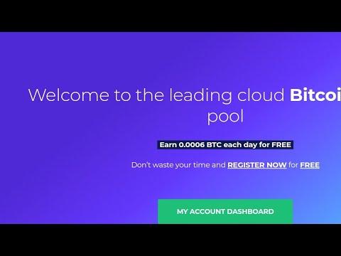 New Bitcoin mining platform!!!Earn 0.005btc for free