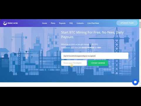 Start Bitcoin Mining For Free Bitcoin Cloud Mining 2019 No Fees, Daily Payouts1111.mp4
