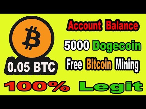 New Bitcoin Mining Website 2019   Earn 0.05 BTC Daily Without Investment