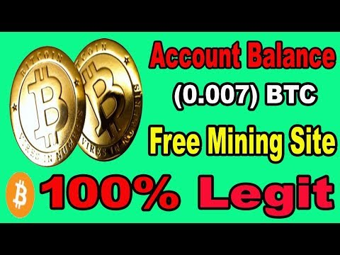 New Bitcoin Mining Website 2019 | Earn 0.07  BTC Daily Without Investment