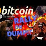 👀BITCOIN RALLY OR DUMP?👀bitcoin litecoin price prediction, analysis, news, trading