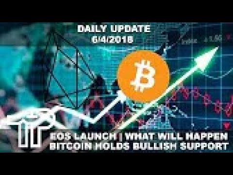 EOS Ecosystem Launch News & Bitcoin Bull Trap Or Bull Market    Daily Update 6 4 2018