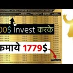 100$ Invest करके कमाये 1779$, Best Bitcoin Earning Website, Part Time Job, Home Frome Work