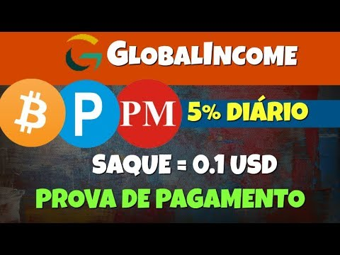 [SCAM] GlobalIncome   5% Diário [Forever]   + Prova de Pagamento [Live Withdrawal]