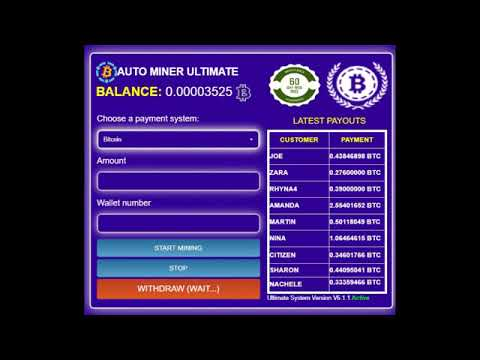 free bitcoin mining software ✓ ultimate version 2019 ✓.mp4