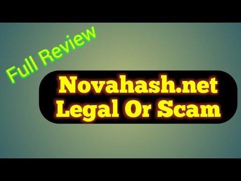 Novahash.net Scam or Legal - Novahash.net full review - 2019 bitcoin mining sites