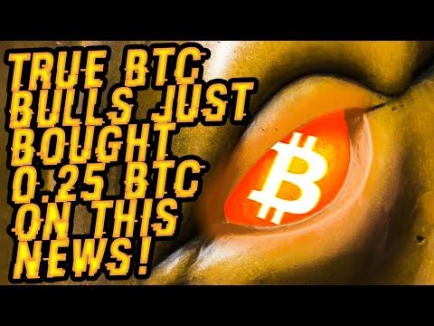TRUE BITCOIN BULLS Just Bought 0.25 BTC On THIS NEWS! Did NOSTRADAMUS CALL BTC OCTOBER PRICE RIGHT?