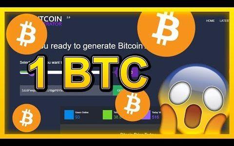 Bitcoin Generator 2019 – Free Bitcoin Mining, Legit ✅