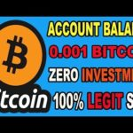 New Bitcoin Mining Website 2019 | Earn 0.001 BTC Without Investment | New BTC Mining Site 2019