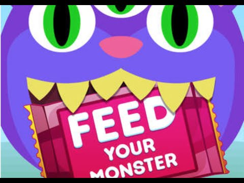 Feed Your Monster iOS App | Gameplay Review!