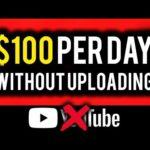 Make $100 Per Day on YouTube WITHOUT Uploading Videos!   Make Money Online 2019