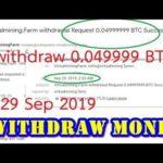 Bitcoin mining cloud Review virtual mining farm Last withdraw 29 Sep 2019