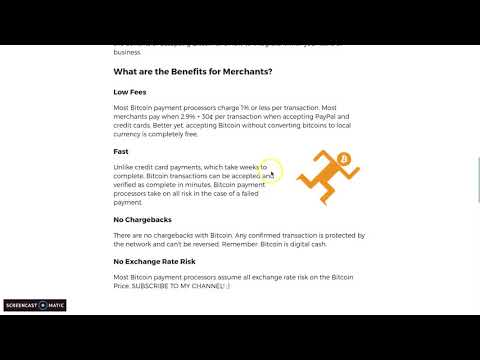 How to accept Bitcoin Payment as a merchant