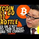 TOM LEE Says BITCOIN Will GO FULL THROTTLE Based ON 3 KEY FACTS! $20K Is RIGHT AROUND THE CORNER?
