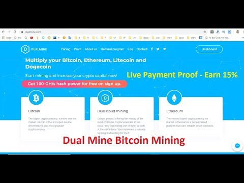 Dual Mine Bitcoin Mining is Dualmine.com SCAM or Legit Live Payment Proof - Earn 15% Monthly Part 4