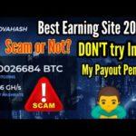 Novahash.net Scam Alert_Best Bitcoin Mining Site_Novahash is Scam_Don't invest Novahash.net🔥