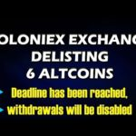 POLONIEX EXCHANGE DELISTING SOME TOKENS OR COINS  #BITCOIN NEWS #LiveDayTrader 13 oct 2019