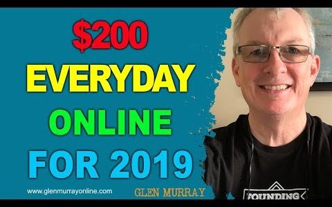 $200 a day   How to get started making money online when you are broke
