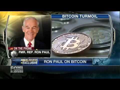 Economic crisis Bitcoin Market Volatility 'Not Surprising' Ron Paul