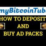 MyBitcoin Tube How to Deposit - Buy Ad Packs  #Bitcoin