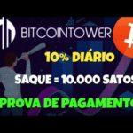 [SCAM] BitcoinTower   10% Diário Forever   + Prova de Pagamento