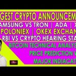 Latest Cryptocurrency News | Bitcoin Analysis & Price Prediction | Samsung | Travala | Binance Etc.