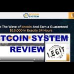 Bitcoin System Review, Scam or Legit Trading Robot? The Truth!