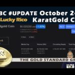 #KaratGold #KBC Holds while #Bitcoin Dumps #LuckyRico
