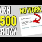Make Money Online – Earn $500 + DAILY DOING NOTHING!!