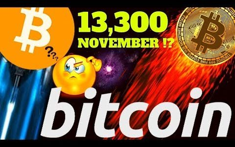 🚀 BITCOIN to 13.300 by end of NOVEMBER? 🚀bitcoin litecoin price prediction, analysis, news, trading