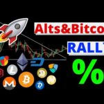 Bitcoin bullish signs – Altcoins showing strength – Crypto Sunday news and updates – ADA big update!