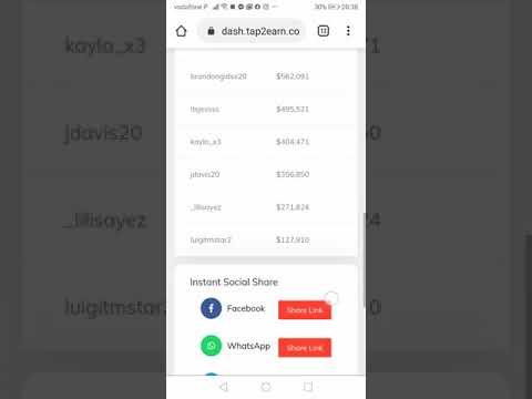 Tap 2 Earn Member @Antonio1968 Review | Best Way To Make Money Online