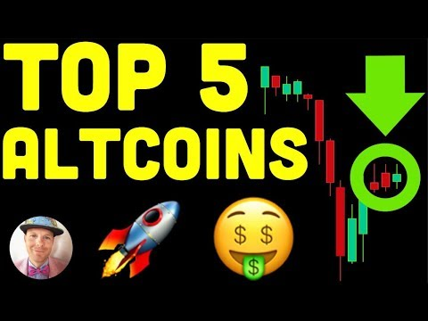 TOP 5 ALTCOINS FOR CHRISTMAS (btc bitcoin crypto live news price today xrp eth ltc chainlink alts ta