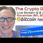 CryptoDad's Live Q. & A. Bitcoin News