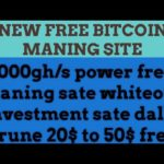 New Free Bitcoin Cloud Mining ll 1000 GH/S Signup Bonus|HOW TO ERUN BITCOIN FREE