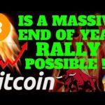 🚀  BITCOIN MASSIVE END OF YEAR RALLY?? 🚀bitcoin litecoin price prediction, analysis, news, trading